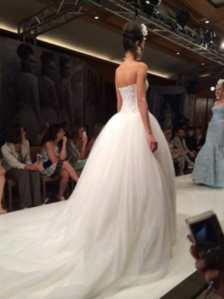 Bridal dress con gonna ampia Atelier Aimée 2015