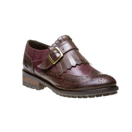 Brogue in pelle monofibbia Bata scarpe autunno inverno 2015