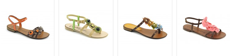 Cafenoir sandali tacco basso primavera estate 2013