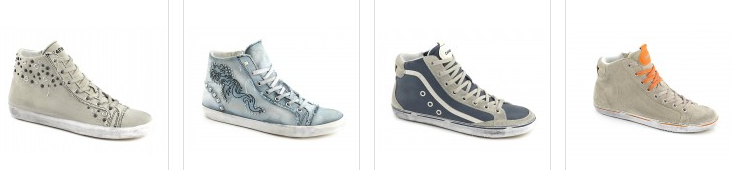 Cafenoir sneakers grigie alte primavera estate 2013