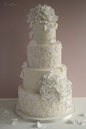 Cakes wedding - torte nunziali per matrimonio-con pizzo