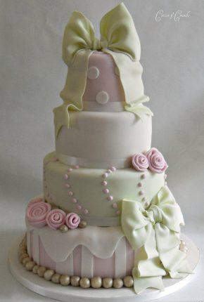 Cakes wedding - torte nunziali per matrimonio-fiocchi