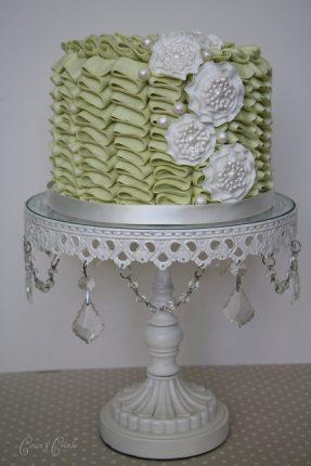 Cakes wedding - torte nunziali per matrimonio-verde menta