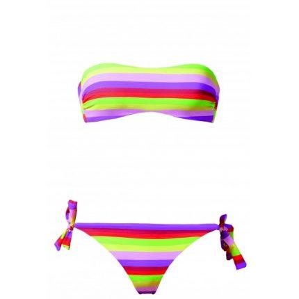 Calzedonia bikini a fascia con le righe estate 2014