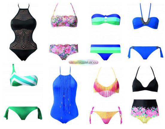 Calzedonia costumi da bagno beachwear 2014 grafiksmania - Costumi da bagno interi calzedonia ...