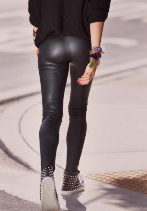 Calzedonia leggings pelle primavera estate