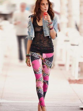 Calzedonia leggings stampati primavera estate