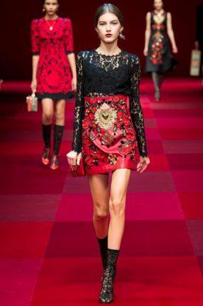 Camicetta pizzo Dolce & Gabbana primavera estate 2015