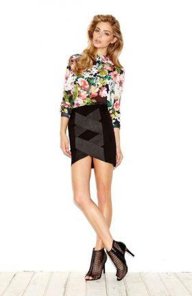 Camicia a fiori Guess