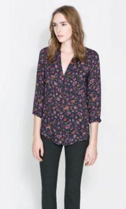 Camicia a quadri Zara primavera estate 2014