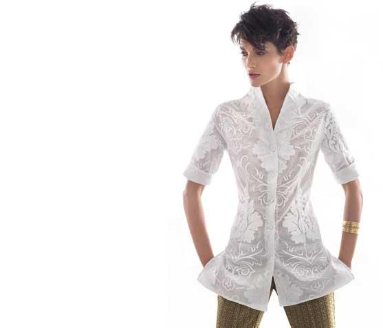 Camicia bianca di Nara Camicce primavera estate 2013