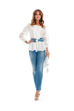 Camicia bianca Luisa Spagnoli primavera estate