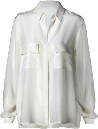 camicia bianca Mango