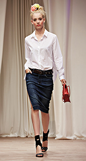 Camicia bianca Twin Set jeans primavera estate 2016