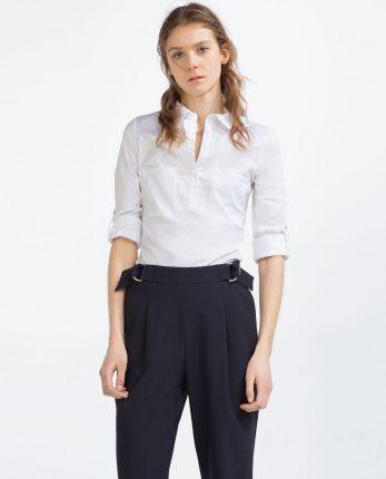 Camicia bianca Zara primavera estate