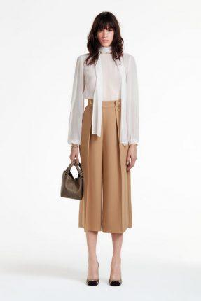 Camicia di seta Elisabetta Franchi autunno inverno 2017
