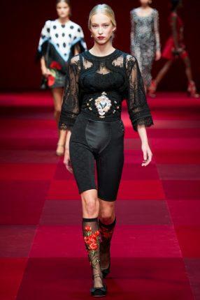 Camicia Dolce & Gabbana primavera estate 2015