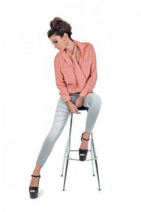 Camicia e jeans Denny Rose primavera estate 2014