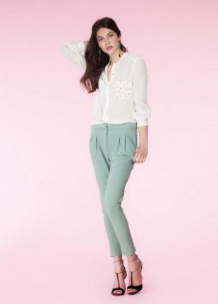 Camicia elegante Hoss Intropia primavera estate 2014