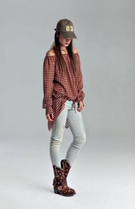 Camicia quadri Denny Rose primavera estate 2014