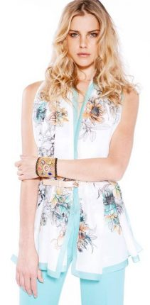 Camicia smanicata Guess primavera estate 2014