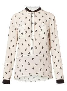 Camicia stampata Marella autunno inverno 2015
