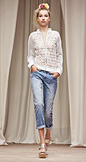 Camicia Twin Set jeans primavera estate 2016