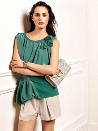 Camicia verde Liu Jo primavera estate 2013