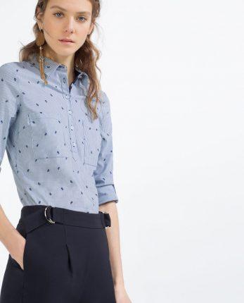 Camicia Zara primavera estate