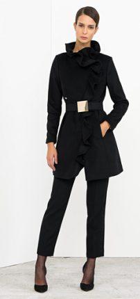 Cappottino con cintura Nenette autunno inverno 2015