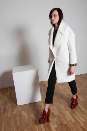 Cappotto Annie P autunno inverno 2015