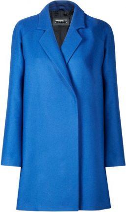 Cappotto blu Mango