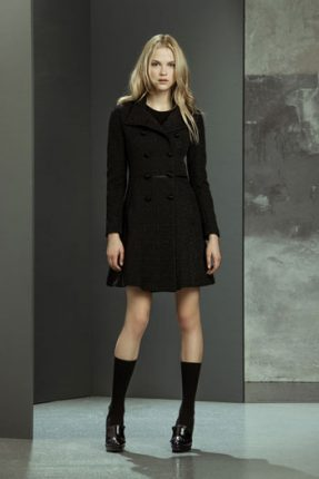 Cappotto con cintura Imperial autunno inverno 2015