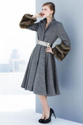 Cappotto con cintura Marks & Spencer autunno inverno 2013 2014