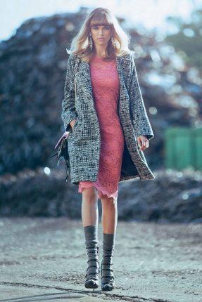 Cappotto corto Denny Rose autunno inverno 2015