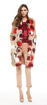 Cappotto di pelliccia Cristinaeffe autunno inverno 2017