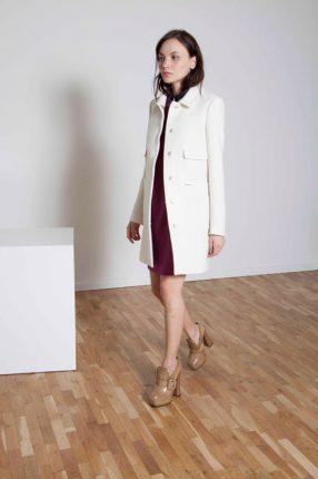 Cappotto dopiopetto Annie P autunno inverno 2015