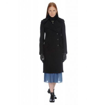 Cappotto doppio petto Stefanel autunno inverno 2015