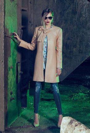 Cappotto elegante Denny Rose autunno inverno 2015