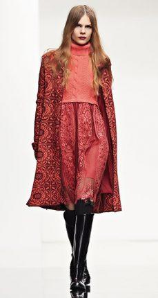Cappotto fiocco Twin Set autunno inverno 2015