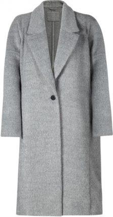Cappotto grigio al ginocchio Mango