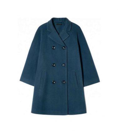 Cappotto in lana Sisley autunno inverno 2017