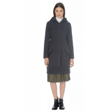 Cappotto in panno Stefanel autunno inverno 2015