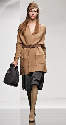 Cappotto lana Twin Set autunno inverno 2015
