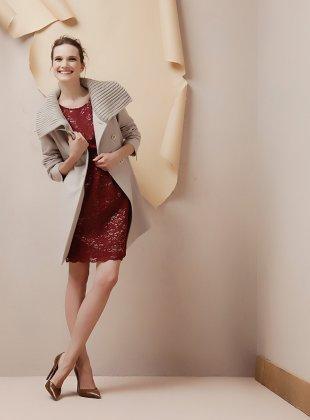 Cappotto maglia Oltre autunno inverno 2013 2014