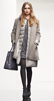 Cappotto mohair Twin Set autunno inverno 2015