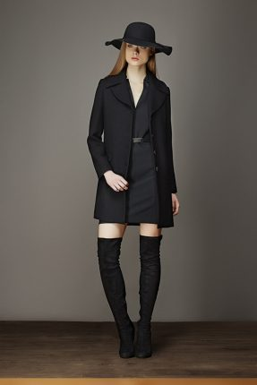 Cappotto nero Artigli autunno inverno 2017