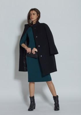 Cappotto nero Blukey autunno inverno 2017