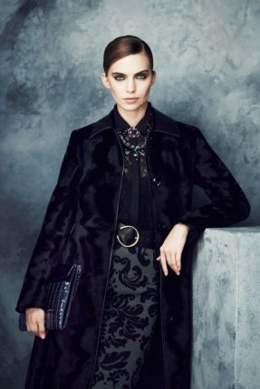 Cappotto nero Marks & Spencer autunno inverno 2013 2014
