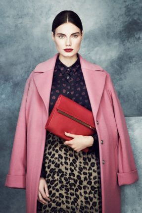 Cappotto oversize Marks & Spencer autunno inverno 2013 2014